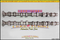 55561748 55353288 A16LET LLU Camshaft For Chevrolet Cruze For Opel Astra H vauxhal l Corsa VXR insignia For SAAB 9 5 1.6T 1598cc