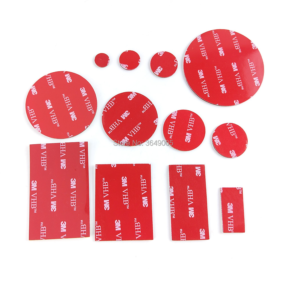 3M VHB 5952 Black Heavy Duty Mounting Tape Double Sided Adhesive Acrylic Foam Tape Die Cut Shape3M VHB 5952 Black Heavy Duty Mounting Tape Double Sided Adhesive Acrylic Foam Tape Die Cut Shape