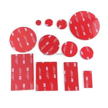 3M VHB 5952 cinta de montaje de alta resistencia, adhesiva de doble cara, cinta de espuma acrílica, forma de troquelado, color negro