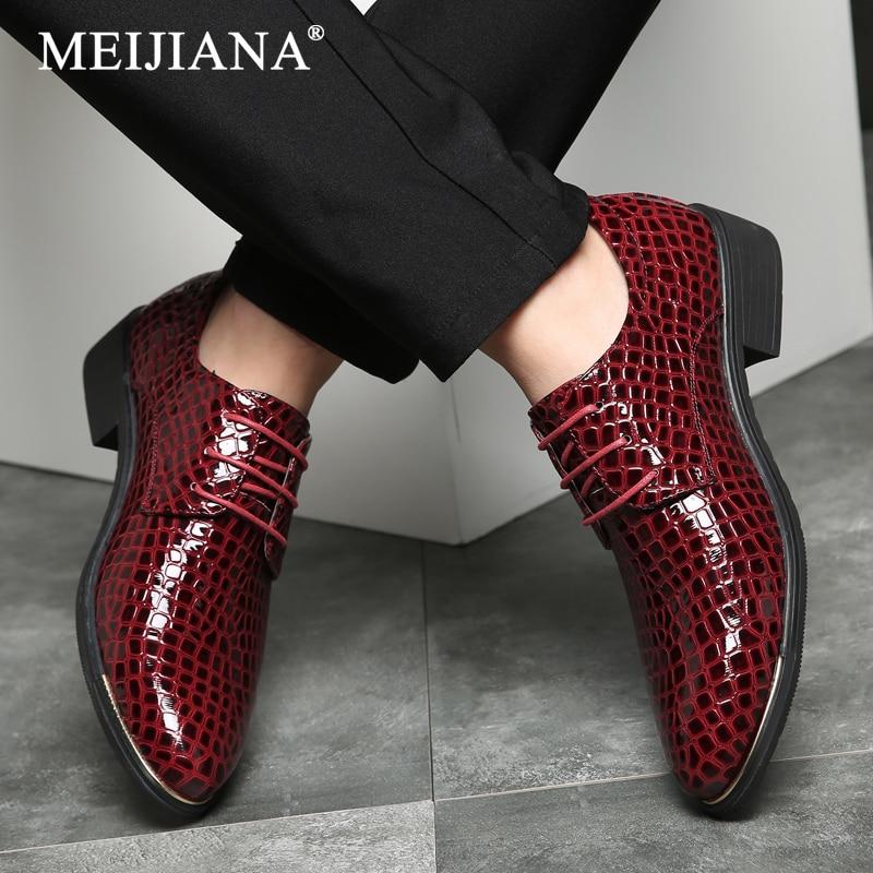 2018 Designer Lace New Men Shoes Shoes Men Toe Dress Oxfords Pointed Up Shoes Shoes Luxury