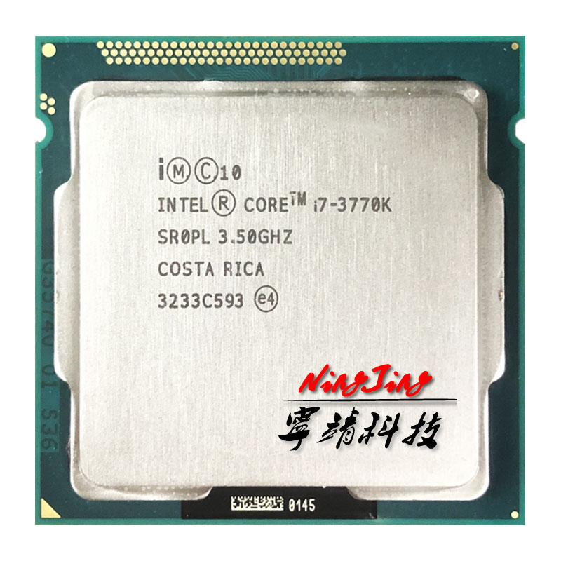 Intel Core i7 3770K i7 3770K 3 5 GHz Quad Core CPU Processor 8M 77W LGA