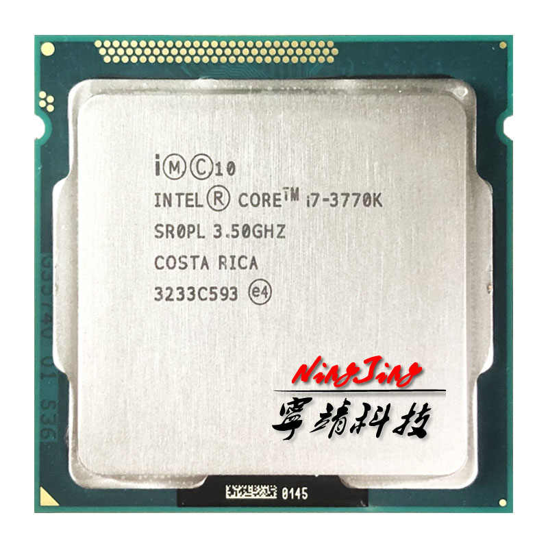 Intel Core i7-3770K I7 3770K 3.5 GHz Quad-Core Processor 8M 77W LGA 1155