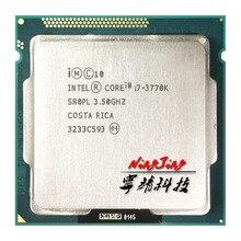 معالج وحدة المعالجة المركزية إنتل كور i7 3770K i7 3770K 3.5 GHz رباعي النواة 8M 77W LGA 1155