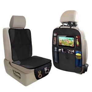 Защита для автомобильного сиденья + коврики для сиденья автомобиля, защита для автомобильного сиденья, чехол для детского сиденья, коврик д...