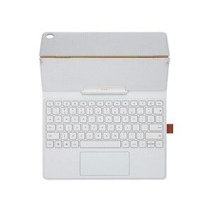 """Image 2 - Оригинальный чехол для Huawei Mediapad M5 с клавиатурой, откидной кожаный чехол для M5 10,8 """"M5 Pro 10,8 дюймов, чехол для планшета"""