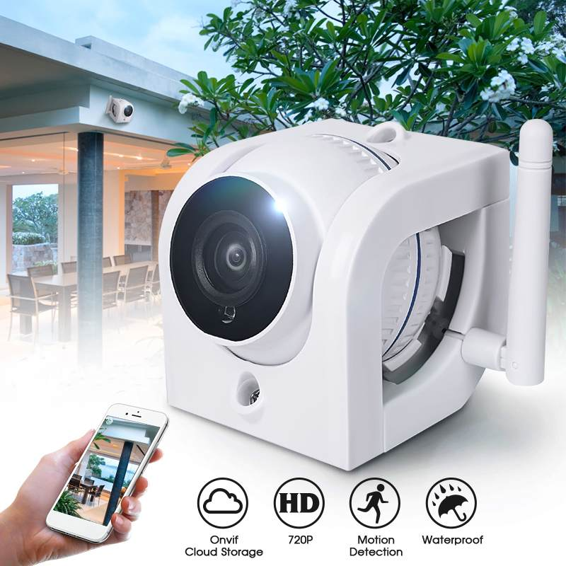 IP Camera Wifi 720P ONVIF Wireless Wired P2P CCTV Outdoor Camera With MiscroSD Card Slot Max 64G Support Amazon Web ServiceIP Camera Wifi 720P ONVIF Wireless Wired P2P CCTV Outdoor Camera With MiscroSD Card Slot Max 64G Support Amazon Web Service
