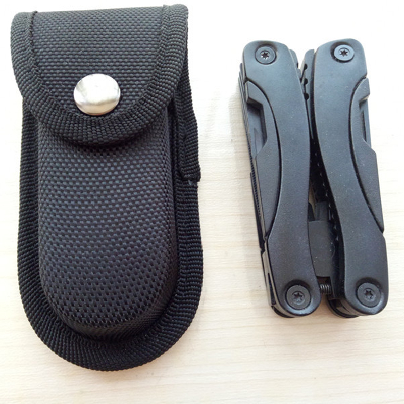 1x Black Nylon Holster Holder Belt Pouch Case Bag For LED Flashlight Torch Lamp