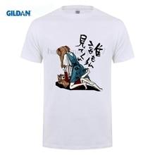 GILDAN EVA Mens Print Evangelion Anime T-shirt Short sleeve O-Neck homme Hipster SwagT shirt