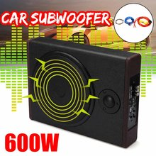 10 inch 600W Car Active Amplified Under Seat Powered Subwoofer Bass Speaker Home Audio Stereo Amplifier Lound Speakers(China)