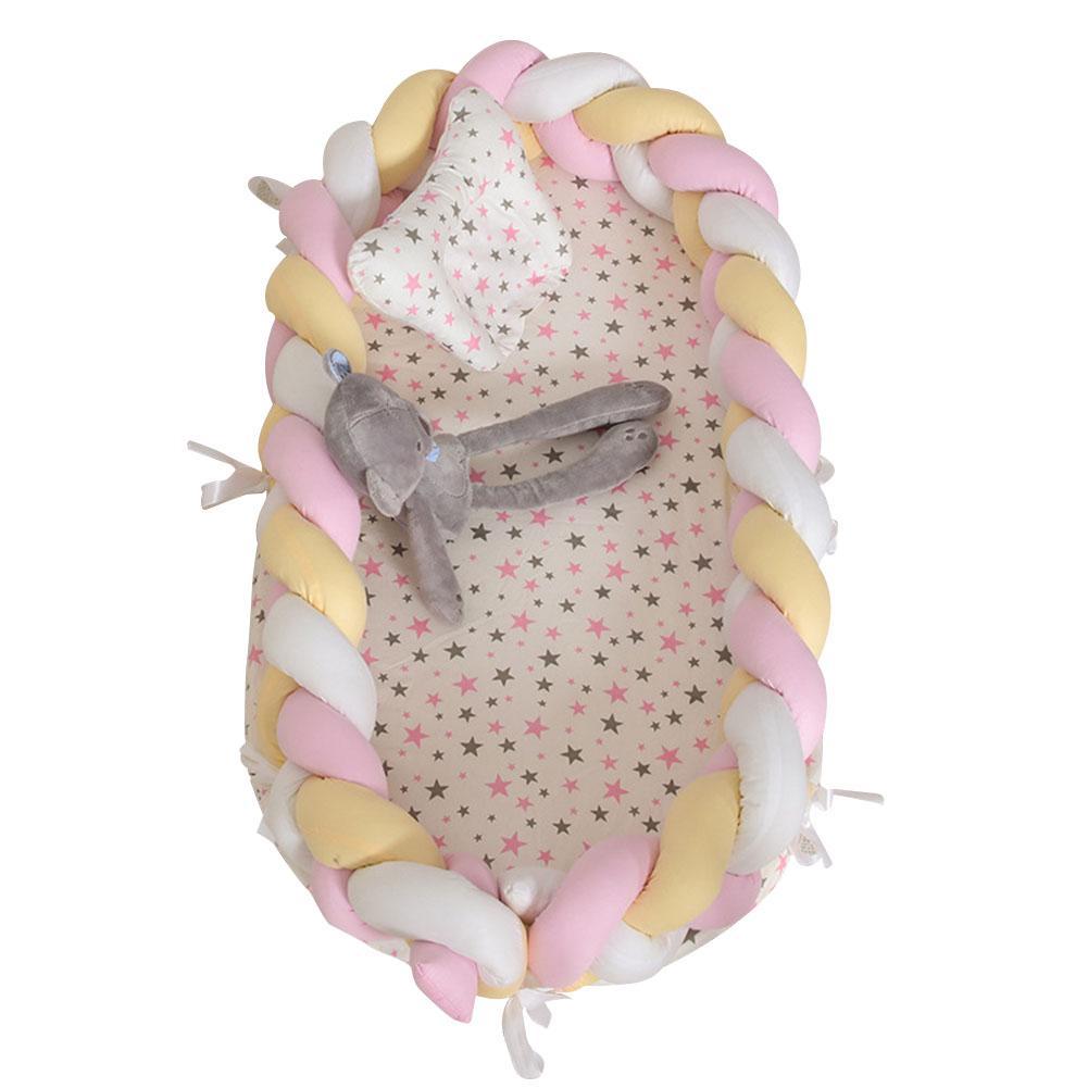 Lit de couchage amovible en coton pliant Kidlove pour bébés