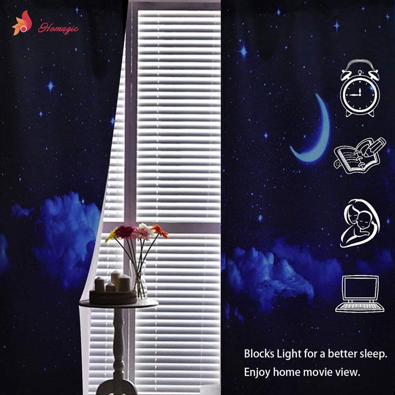 Dreamlike фон для мамы и сына единороги 3D шторы для спальни дети гостиная драпировка ткань полиэстер набор с крючками - 4
