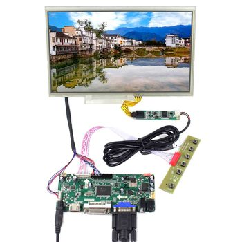 10.1inch 1024X600 LCD Screen With Resistive Touch Panel  work with HDMI DVI VGA AUDIO LCD Board