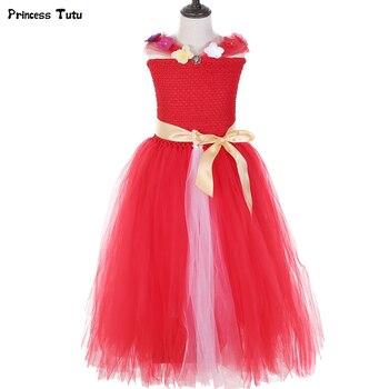 f6b9e23bd Elena de Avalor vestido de Tutu de cumpleaños de los niños vestidos de  fiesta para las chicas Halloween Navidad Elena princesa traje de las niñas vestido  de ...