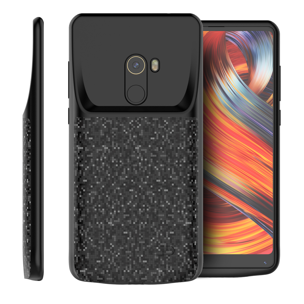 For Xiaomi Mi Mix 2 Battery Charger Case 4700mAh Power Bank Charging Case External Backup Charger Case For Xiaomi Mi Mix 2 Cover|Battery Charger Cases| |  - title=