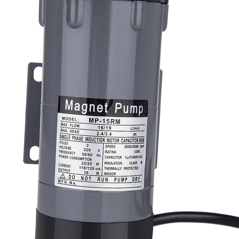 EU Plug Magnetic Drive Pump 15R With 304 Stainless Steel Head,Beer Brewing, 220V European Plug With 1/2Npt Thread - 6