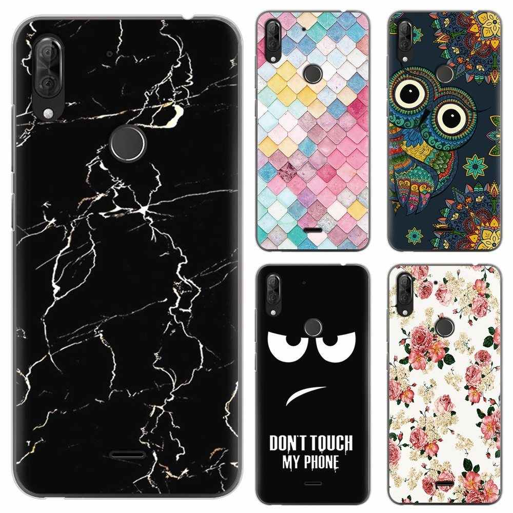 Nieuwe Collectie Phone case Voor Wiko View 2 Plus 5.93-inch Fashion Design Art Painted TPU Soft Case Siliconen cover