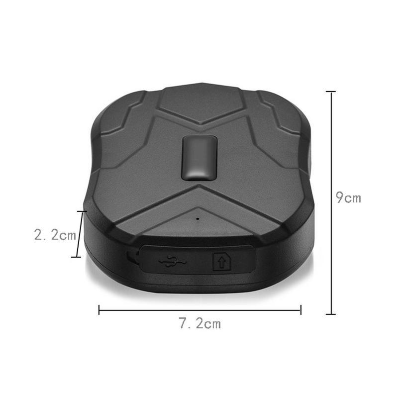 GPS Tracker voiture TKSTAR TK905 5000 mAh 90 jours en veille 2G traqueur de véhicule GPS localisateur étanche aimant moniteur vocal application Web gratuite - 2