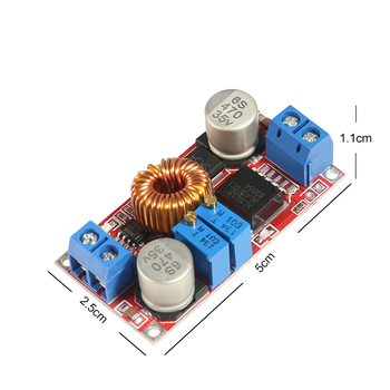 Original XL4015 E1 5A DC to DC CC CV Lithium Battery Step down Charging Board Led Power Converter Lithium Charger Module image