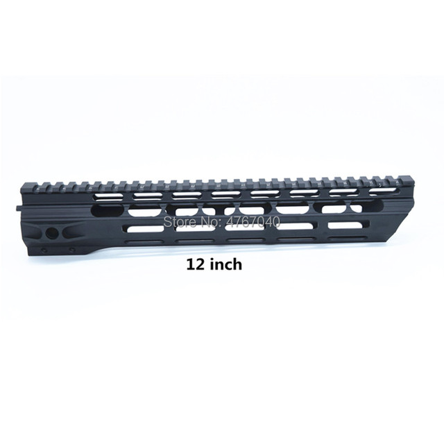 mlok handguard Rails One Rail free Float AR 15 Handguard Quad Rail for AEG M4 M16 AR15 for Rifle MLOK Handguard Hunting Shooting
