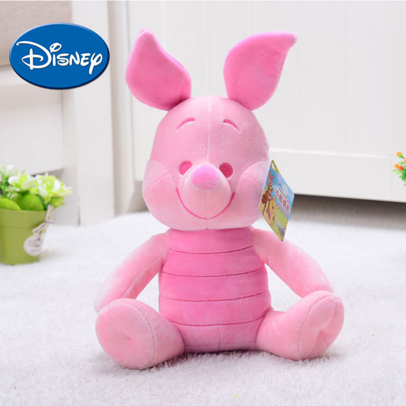 Disney Cartoon Kids Toys Children  Winnie The Pooh Lilo Piglet Soft Safe Plush Stuffed Toy Doll Birthday Holiday Best Gifts
