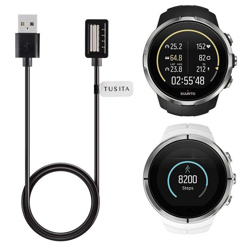 Magnetic USB Charging Power Cable For Suunto 9/ Spartan Ultra/Spartan Ultra HR/Spartan Sport/Spartan Sport HR (3.3ft/100 Cm)