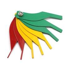 8PCS Auto Brake Pad Thickness Detector Car Repair Measuring Tool Set Feeler Kit Gauge Tools