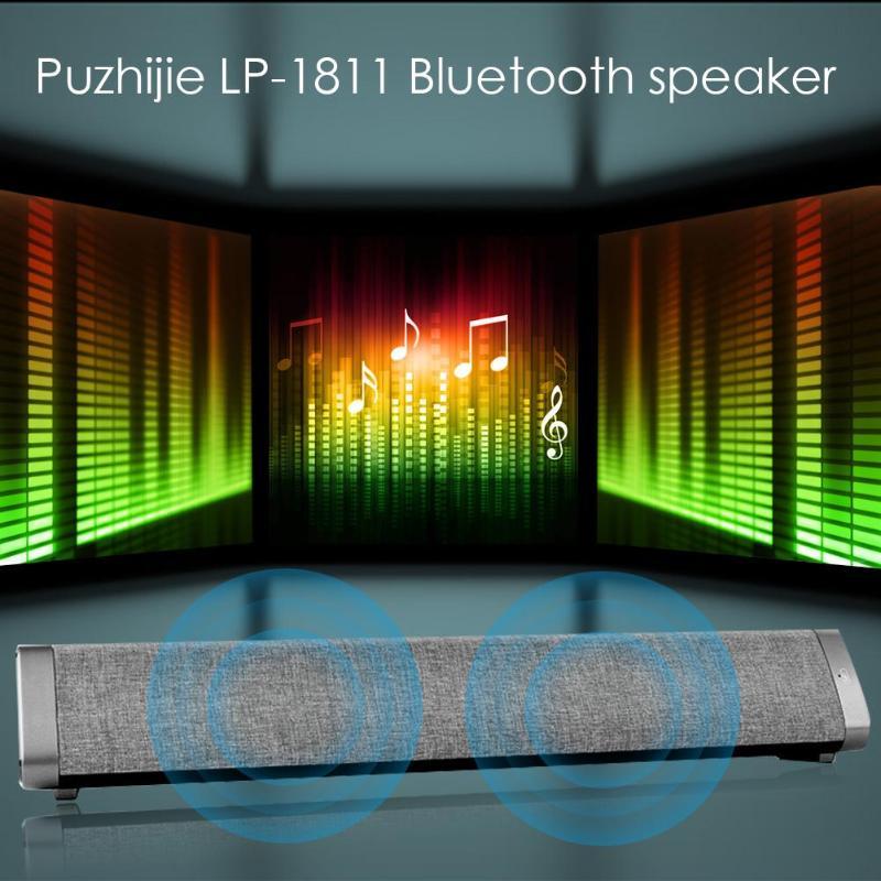 Sans fil Bluetooth 5.0 barre de son haut-parleur HIFI Portable AUX USB-DAC haut-parleurs de basse stéréo caisson de basses colonne pour TV/PC/téléphone