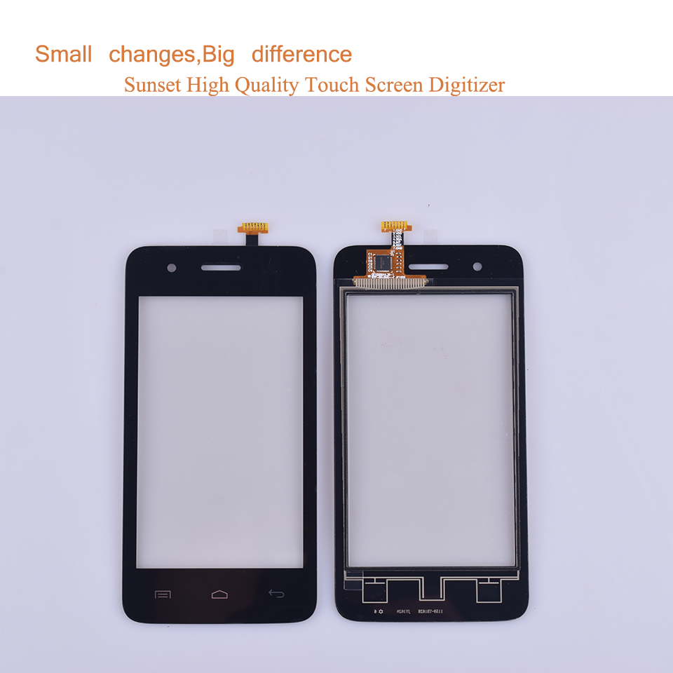 10Pcs lot For Wiko Sunset Sunset 2 Sunset2 Touch Screen Panel Sensor Digitizer Front Outer Glass Touchscreen Touch Panel in Mobile Phone Touch Panel from Cellphones Telecommunications