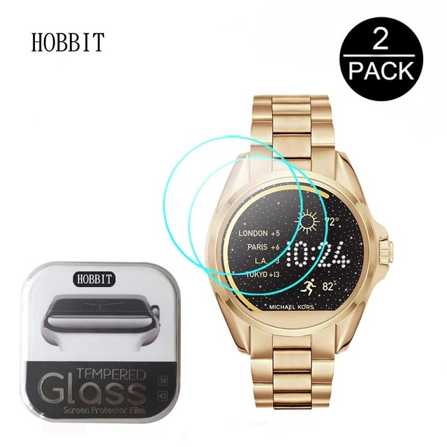 a6007abc0b 2Pack For Michael Kors MKT5001 MKT5002 MKT5003 MKT5004 0.3mm 2.5D 9H  Tempered Glass Screen