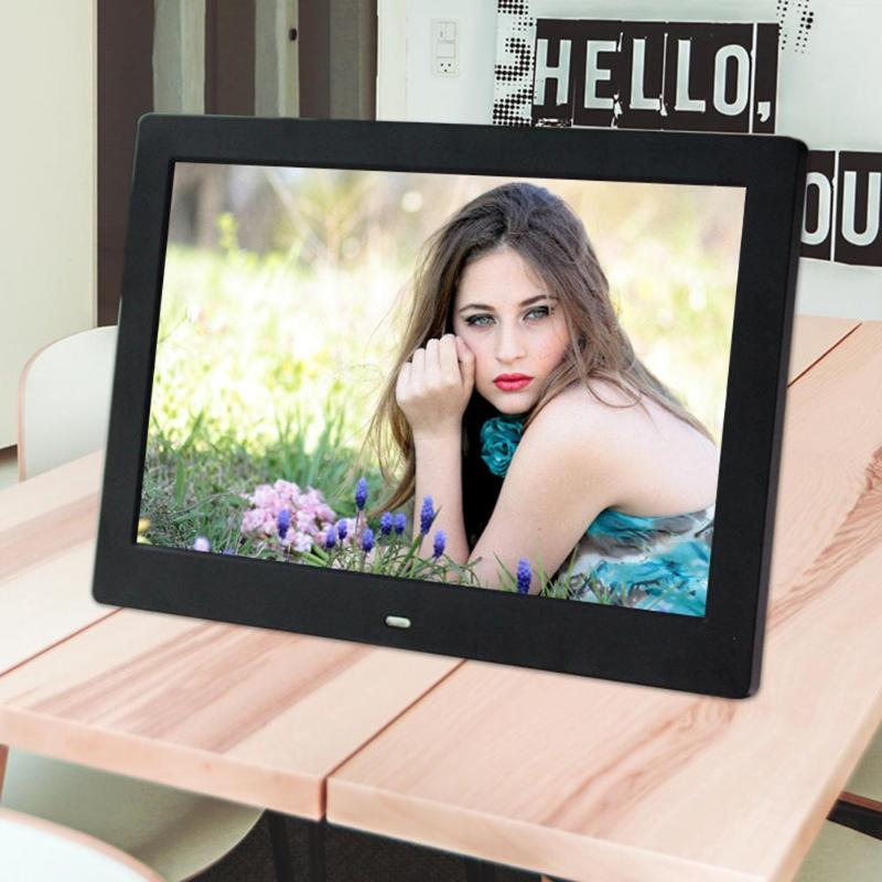 VODOOL цифровая фоторамка 10 дюймов HD ips экран 800x1280 электронная фоторамка Поддержка часы Музыка Видео MP3 MP4 видеопроирыватель
