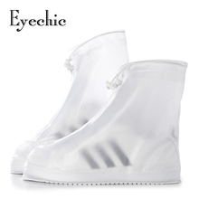 Eyechic waterproof shoes covers waterproof silicone shoes covers for rain protector plastic