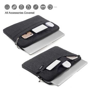 WiWU Laptop Bag 17.3 15.6 15.4 14.1 13.3 Waterproof Laptop Bag 15.6 for MacBook Air 13 Case Notebook Bag for MacBook Pro 13 Case