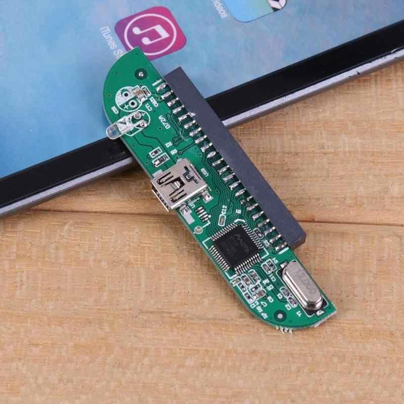 قرص صلب W25P4 2.5 بوصة IDE USB 2.0 إلى IDE قرص صلب HDD الخارجية تخزين الضميمة داعم محول 2 تيرا بايت الصلب سائق