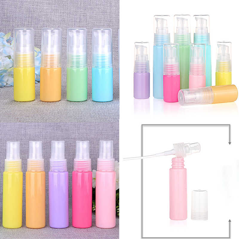 Sale 1PC Press Bottle Refillable Portable Silicone Mini Lotion Traveler Packing Bottle Perfume Bottle Cosmetic Empty Container