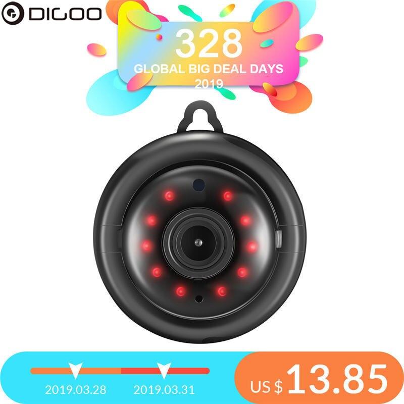 DIGOO DG-MYQ 2,1mm Objektiv 720 P Wireless Mini WIFI Nachtsicht Smart Home Sicherheit IP Kamera Onvif Monitor Baby monitor