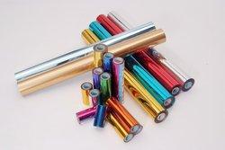 Hot stamping folie gemengde kleur hot stempelen op papier of plastic materialen transfer folie warmte folie 64 cm x 120 m