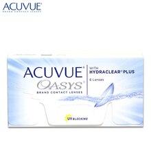Контактные линзы Acuvue Oasys with Hydraclear Plus(6 шт) R: 8.8