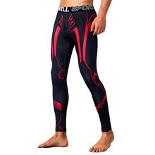 Ondergoed Warm Mannen Lange Onderbroek Gedrukt Broek Mannen Thermisch Ondergoed Mannen Thermische Broek Running Basketbal Joggingbroek(China)