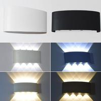 8W LED Wall Light Home Decoration Hotel Pathway Wall Mount Lamp Night Lamp