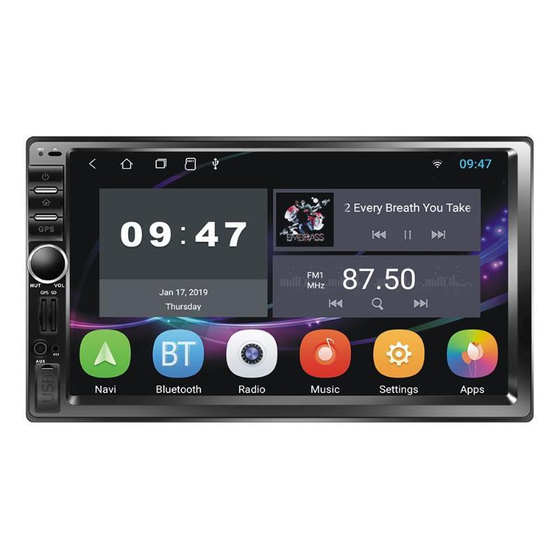 Android 8.1 Quad Core voiture stéréo lecteur MP5 GPS Navi RDS AM FM Radio WiFi BT + caméra pour Android WiFi module 802.11n