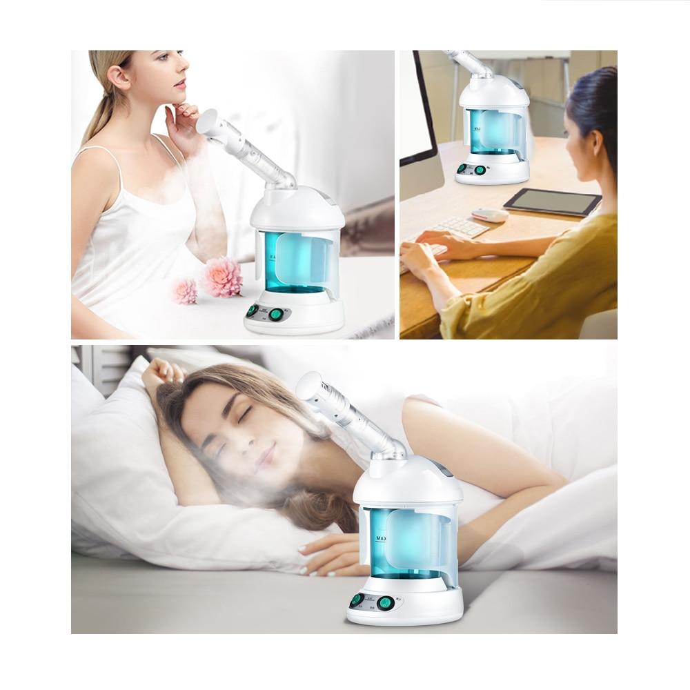 K-SKIN KD2328 przenośny parowiec do twarzy maszynowy zimne gorące opryskiwacz mgły do gotowania na parze domowe SPA do pielęgnacji skóry twarzy nawilżacz narzędzie do pielęgnacji twarzy