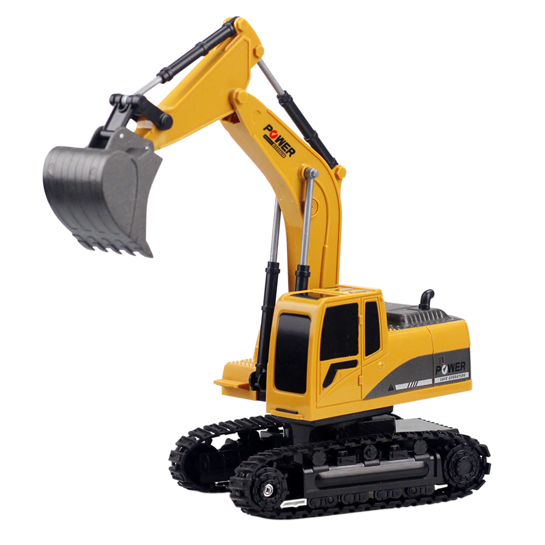 Hot Sale 1:24 6CH RC Engineering Van Excavator Model Navvy Beach Sand Toy For Children Kids Water Fun Sports - Alloy Version