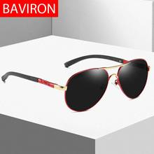 BAVIRON Men Sunglasses Polarized Designer Pilot Sun