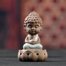Sandalwood Furnace Incense Burner Buddha Decoration Ceramic Aromatherapy Furnace Buddhism Decoration Clay Tea Pet Ceramic Z287 цена и фото