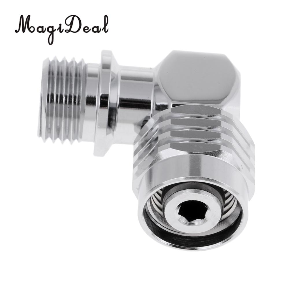 Scuba Dive 360 Degree Swivel Connector for 2nd Stage Regulator