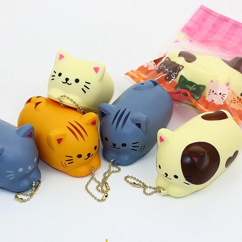 Sushi Duftenden Squeeze Anhänger Spielzeug Langsam Steigenden Nette Lustige Gadgets Spielzeug Stress Kinder Heilung Geschenk Schlüsselbund Tasche Zubehör Mutter & Kinder