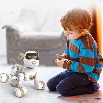 Пульт дистанционного управления робот электронная игрушка для собак и питомцев интерактивный Щенок умный робот игрушки для детей
