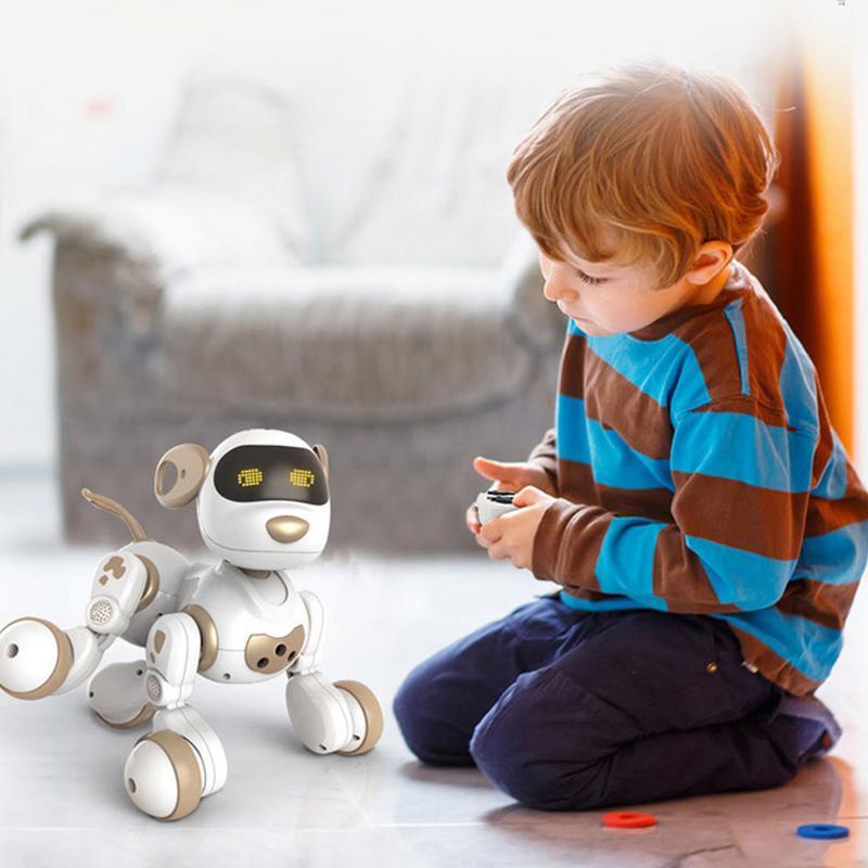 Télécommande Robot Électronique Animaux Chien Jouet Interactif Chiot Robot Intelligent Jouets pour Enfants