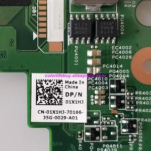 Image 5 - حقيقية CN 01X1HJ 01X1HJ 1X1HJ w 216 0809024 GPU HM67 اللوحة المحمول اللوحة الأم لديل انسبايرون N4050 الكمبيوتر الدفتري
