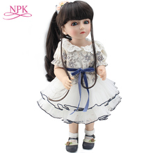 45cm lovely Rapunzel girl BJD doll  BJD/SD Reborn dolls handmade 18 Lovely Fashion Joint Doll Dollhouse birthday gift Toys